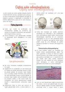 Cistos não odontogenicos
