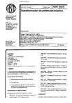 NBR 06855   1992   Transformador de Potencial Indutivo