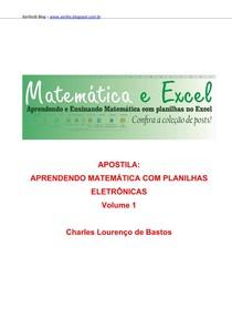 Apostila Construindo planilhas no Excel   Conteúdos Matemáticos