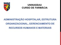 Aula 2 - administração hospitalar