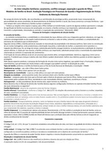 Psicologia Jurídica - Aula 07 - As inter-relações familiares