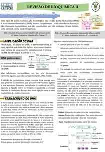 Resumo Geral Bioquímica