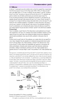 Pneumoconiose- parte 3: Silicose