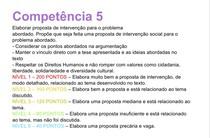 Competência 5 da redação do ENEM