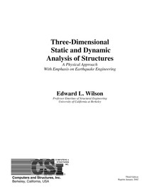 WILSON Static and Dynamic Analysis of Structures - Resistên