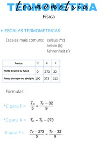 termometria física