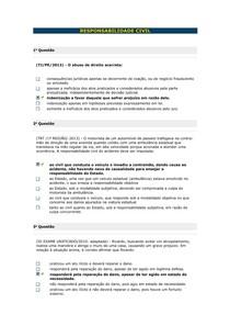 RESPONSABILIDADE CIVIL - Aula 02 III
