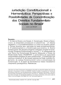 Jurisdição Constitucional e Hermenêutica-Lênio Luiz Streck