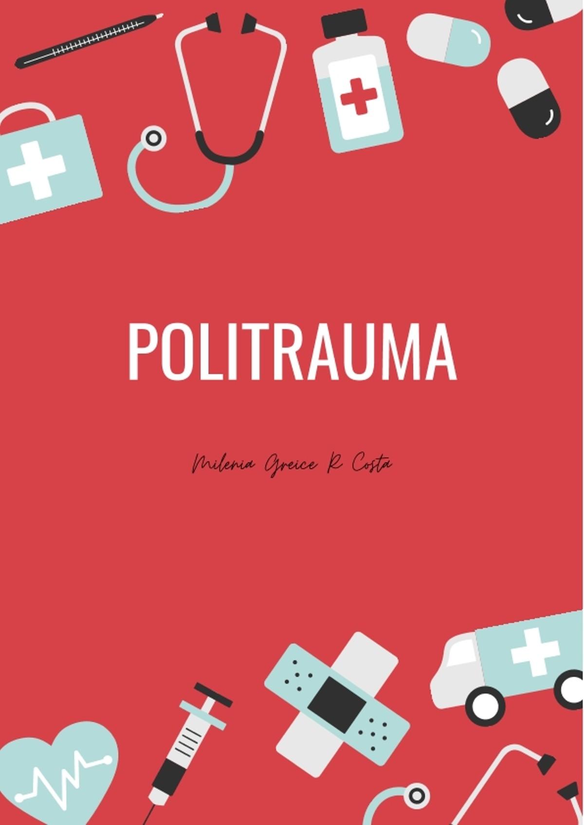 Pre-visualização do material Politrauma - página 1