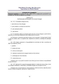 Apostila de Direito de Família - Parte II - 54 páginas