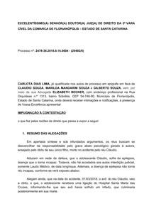 Impugnação A Contestação Direito Processual Civil I