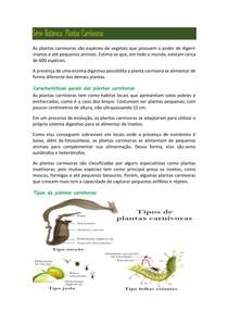 Serie botânica: Plantas carnívoras