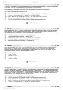 avaliação parcial de psicologia na saúde
