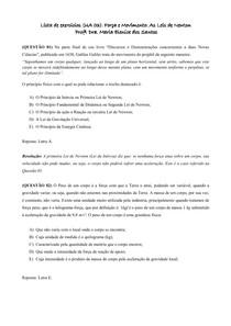 Lista UA 3__Força e Movimento_As Leis de Newton