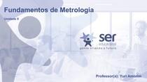 Metrologia Unidade 2