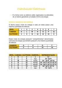 Distribuição Eletrônica - resumo