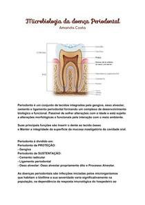 microbiologia da doença periodontal
