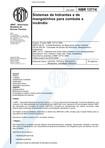 NBR 13714   2000   Sistemas de Hidrantes e de Mangotinhos para Combate a Incêndio