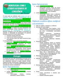 Neurologia - Coma