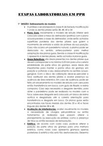 ETAPAS LABORATORIAS PPR CLASSE III