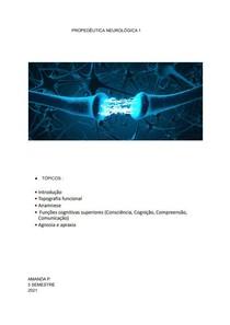 PROPEDÊUTICA NEUROLÓGICA 1