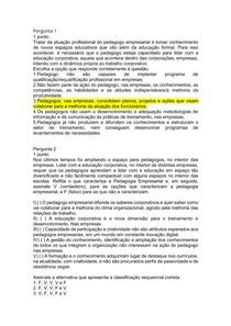 AOL 05 INTRODUÇÃO A PEDAGOGIA