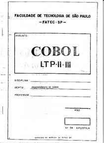 apostila cobol