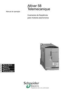 ATV58 MANUAL DE INSTALAÇÃO BR