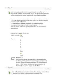 Estudos Disciplinares II - Questionário II