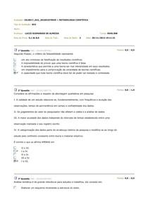 av2 Metologia (minha prova)