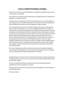 AUALA 3 CONSTITUCIONAL AVAÇADO
