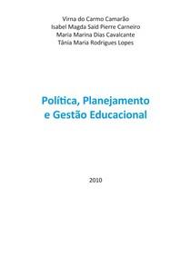 APOSTILA Política, Planejamento Educacional I