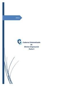 Direito Empresarial - Cadernos Sistematizados