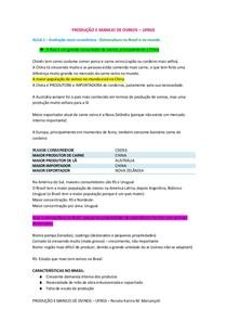 PRODUÇÃO E MANEJO DE OVINOS   prova 1