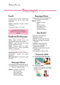 Hemorragias - Resumo