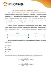 Resumo 05 - Velocidade Média (deslocamentos parciais)