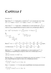 Solucionário Um curso de cálculo 5ed Vols. 1,2,3 e 4 Hamilton Guidorizzi