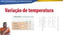 EXERCÍCIOS E RESUMO DA AULA DE VARIAÇÃO DE TEMPERATURA