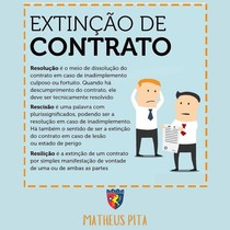EXTINÇÃO DE CONTRATO
