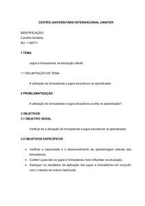 TCC Projeto - NOTA 100