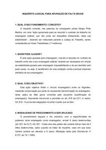 INQUÉRITO JUDICIAL PARA APURAÇÃO DE FALTA GRAVE-1
