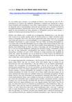 Artigo de Lore Reich sobre Reich e Anna Freud