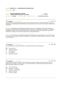 AV2 - Fundamentos da Epidemiologia 2014.1
