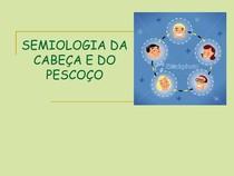 AULA 5  SEMIOLOGIA DA CABEÇA E DO PESCOÇO