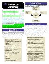 Reumatologia - Osteoartrite