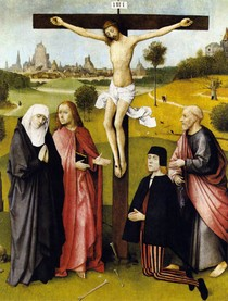 Hieronymus Bosch - Crucifixion With a Donor
