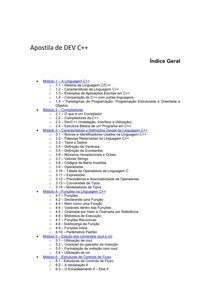 Apostila de DEV C++
