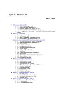 Apostila basica de Dev c++