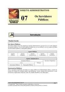 ADM 07 - Os Servidores Públicos