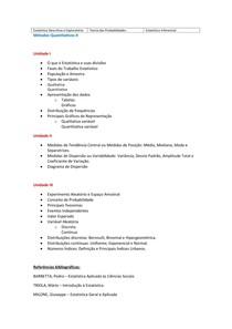 Plano de semestre - MQ II